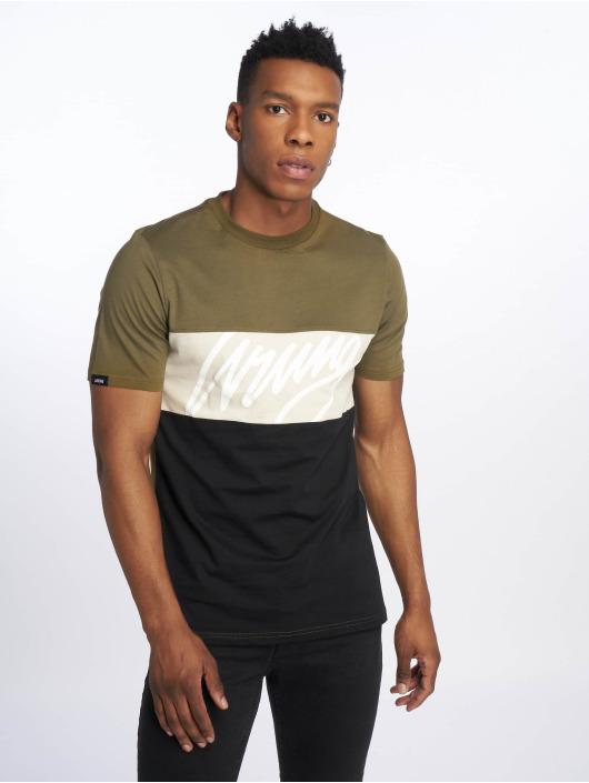 Wrung Division Camiseta Flow caqui