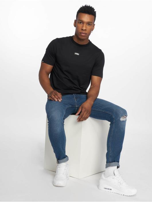 Wrung Division Camiseta Caution negro