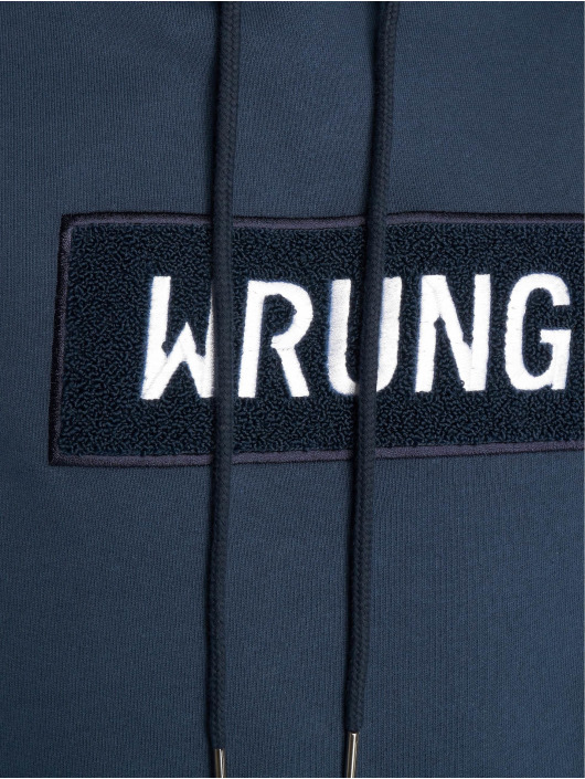 Wrung Division Felpa con cappuccio Boxter blu