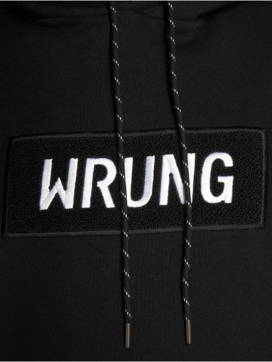 Wrung Division Felpa con cappuccio Boxter nero