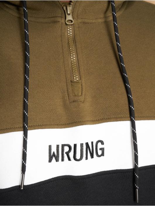 Wrung Division Felpa con cappuccio Kyo nero