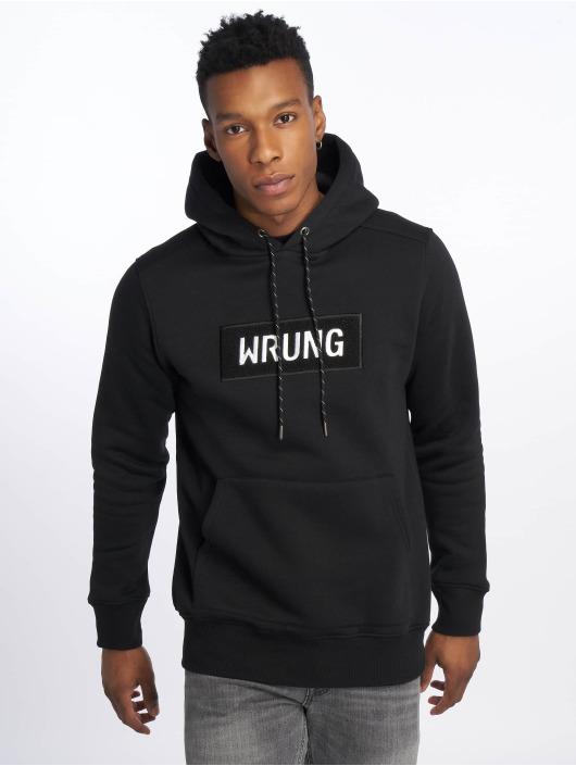 Wrung Division Hoodies Boxter čern