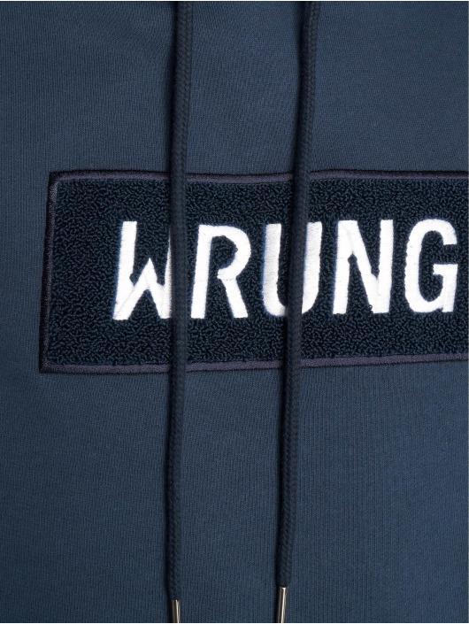 Wrung Division Hoodies Boxter blå