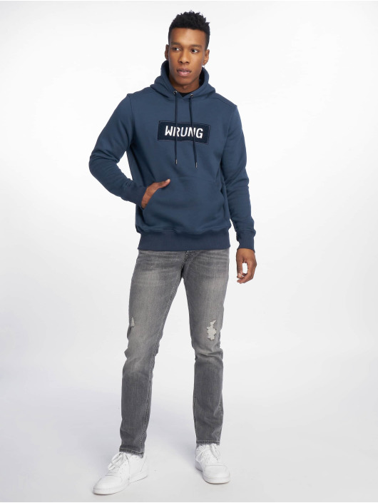 Wrung Division Hoodies Boxter modrý