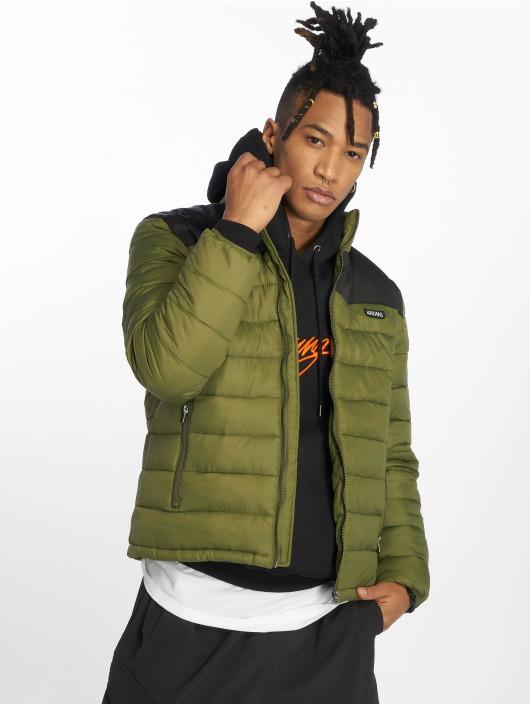 Wrung Division Puffer Jacket Division Lamon khaki
