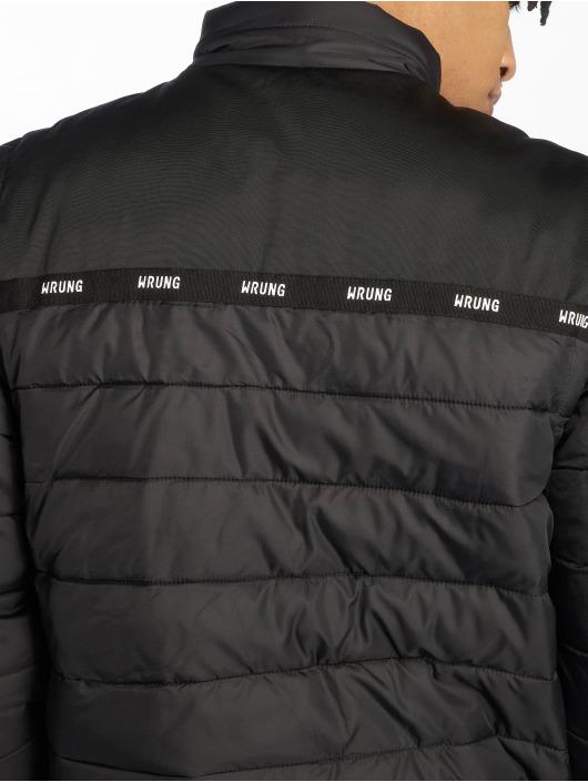 Wrung Division Puffer Jacket Division Lamont schwarz
