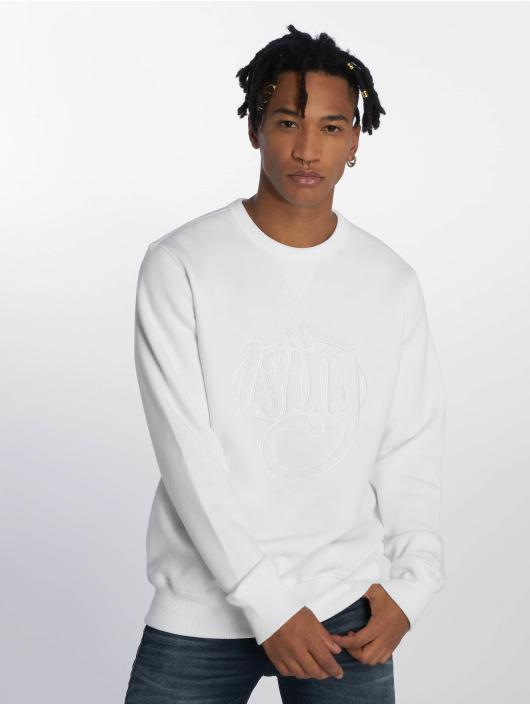 Wrung Division Pullover Original weiß
