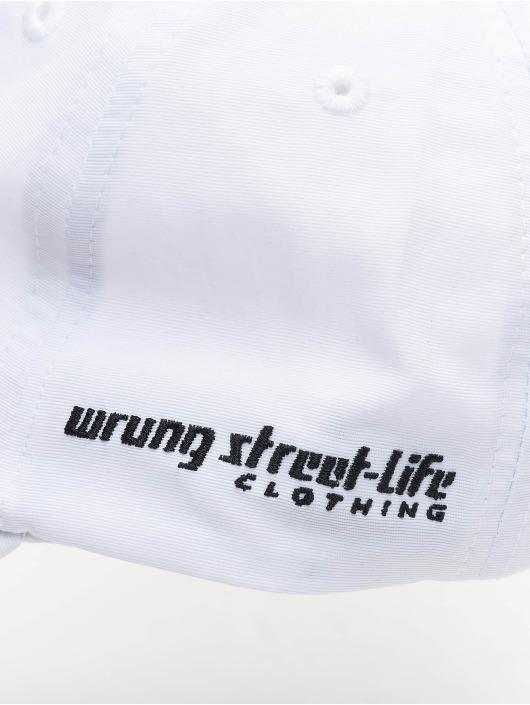 Wrung Division Snapback Cap Og 90 bianco