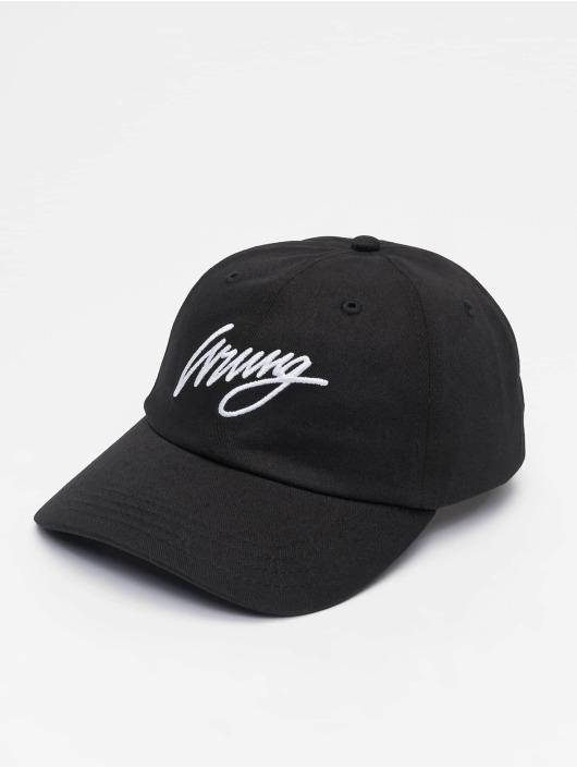 Wrung Division Snapback Cap Sign Logo black