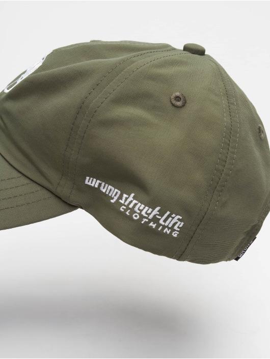 Wrung Division snapback cap Og 90 khaki