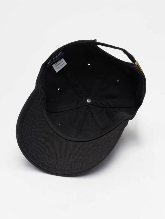 Wrung Division snapback cap Sign Logo zwart