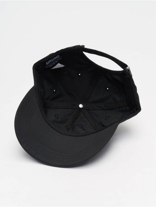 Wrung Division Snapback Caps Og 90 czarny
