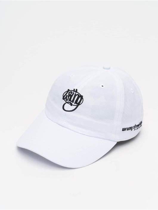 Wrung Division Snapback Caps Og 90 hvid