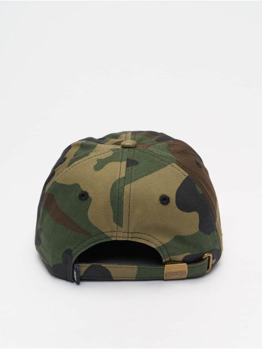 Wrung Division Snapback Caps Camo kamufláž