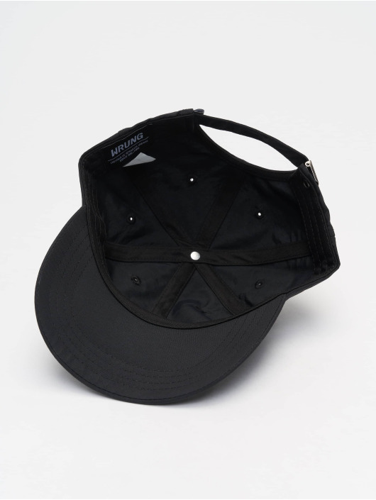 Wrung Division Snapback Caps Og 90 sort