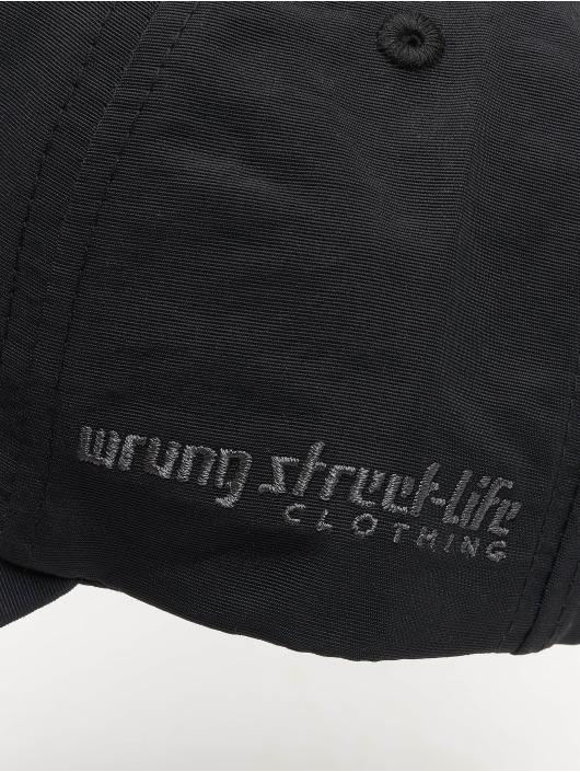 Wrung Division Snapback Caps Og 90 svart