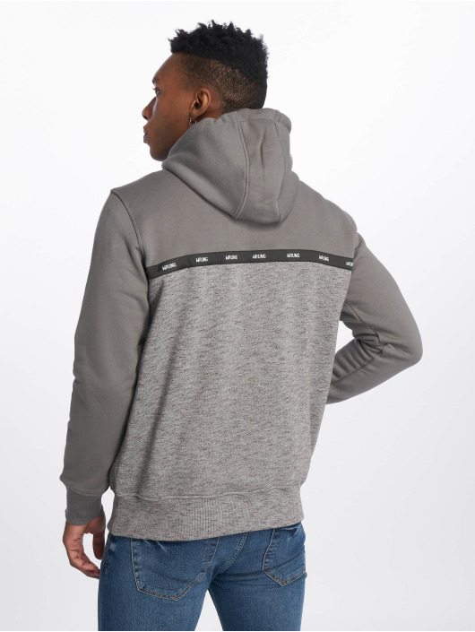 Wrung Division Sweat capuche Kyo gris