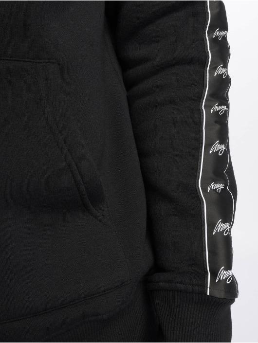 Wrung Division Sweat capuche zippé Ross noir
