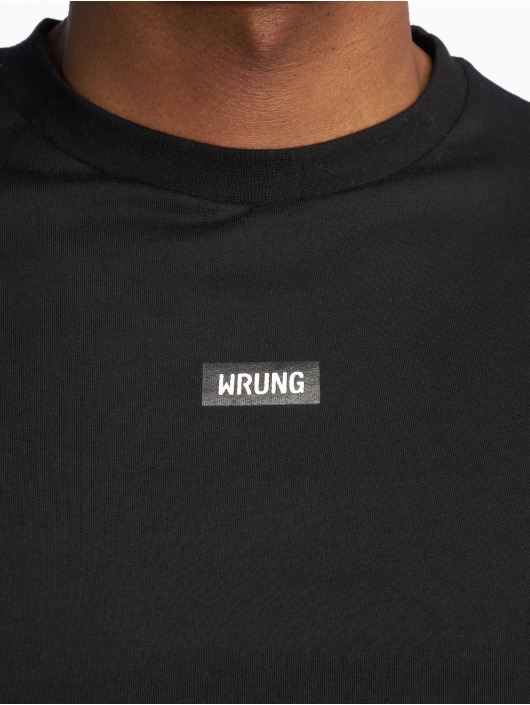 Wrung Division T-shirt Caution svart