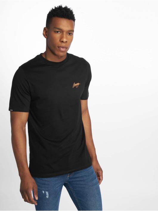 Wrung Division t-shirt Back Sign zwart