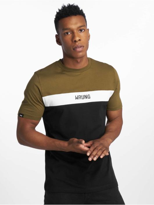 Wrung Division t-shirt Buck zwart