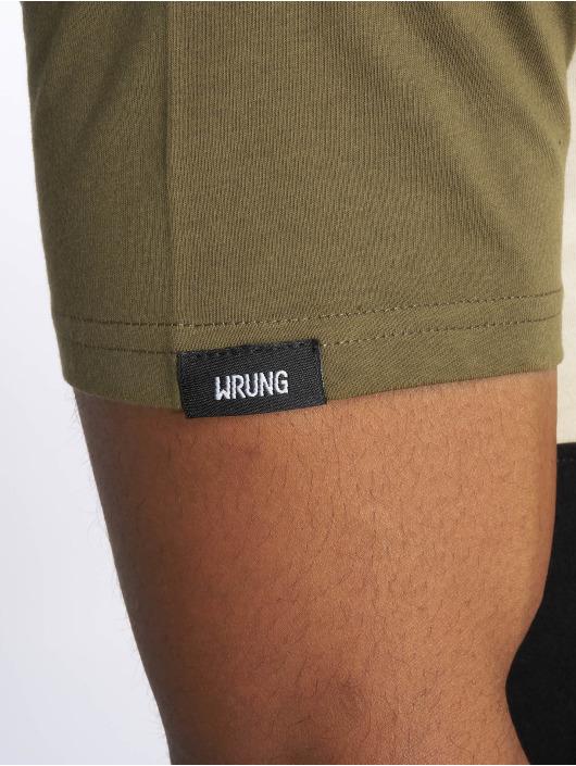 Wrung Division T-skjorter Flow khaki
