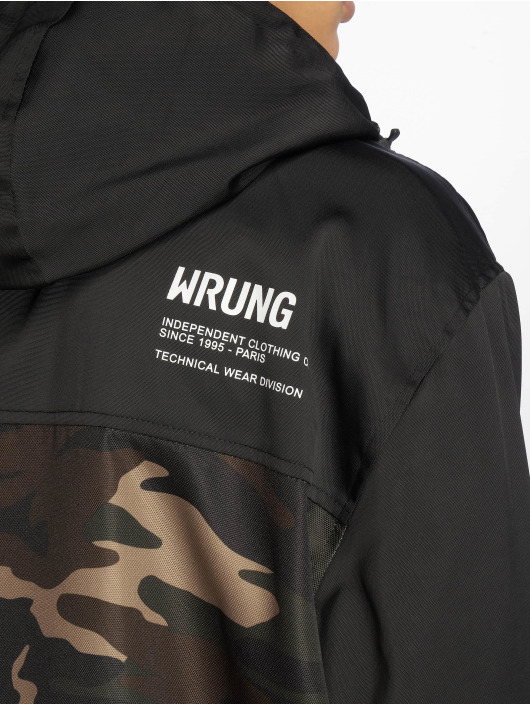Wrung Division Välikausitakit Division Wnd camouflage