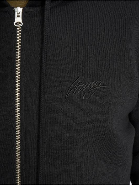Wrung Division Zip Hoodie Ross čern