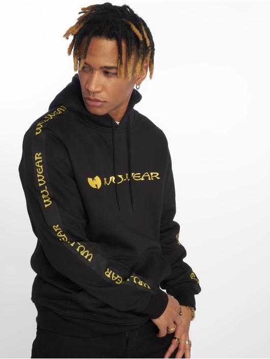 Wu-Tang Bluzy z kapturem Tape czarny