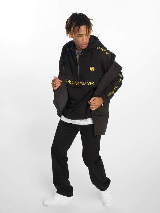 Wu-Tang Bluzy z kapturem Pull Over czarny