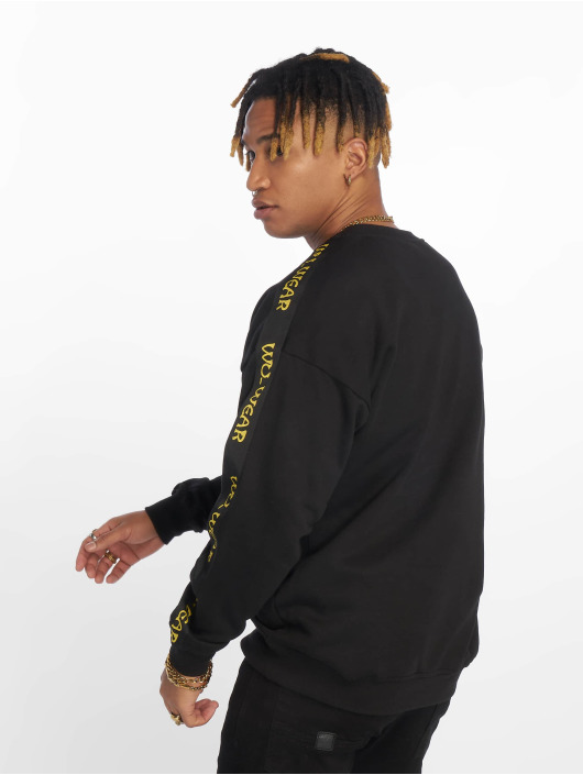 Wu-Tang Pullover Tape Chest Embroidery schwarz