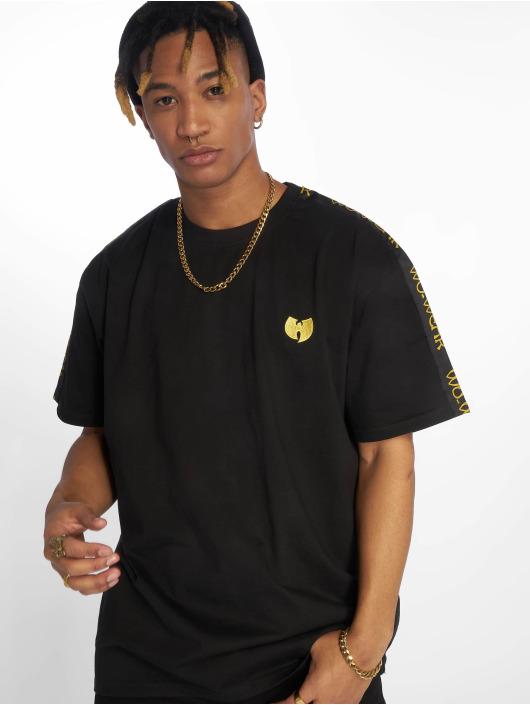 Wu-Tang T-Shirt Sidetape schwarz
