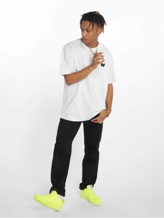 Wu-Tang T-Shirt Pin Stripe white