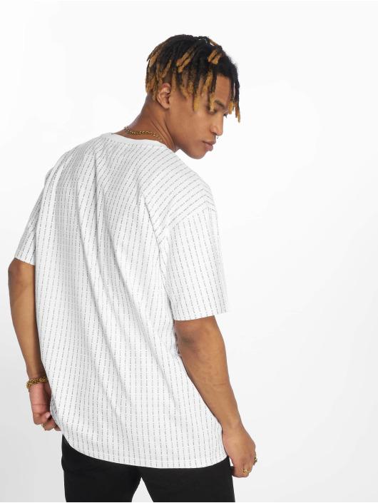Wu-Tang T-Shirty Pin Stripe bialy