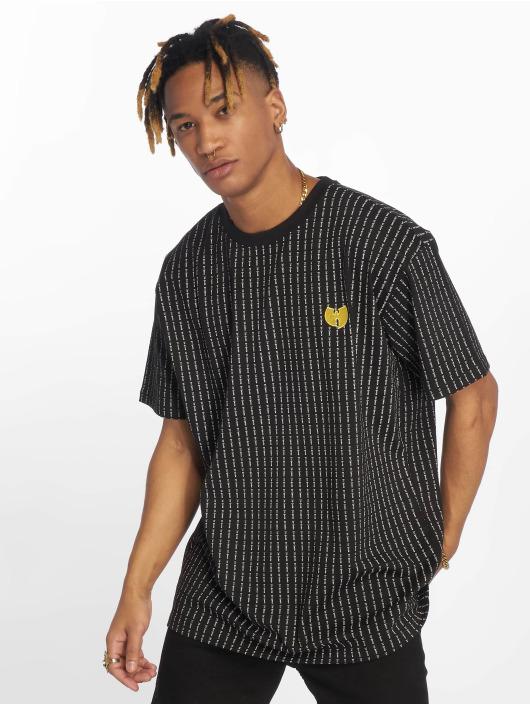 Wu-Tang Tričká Pin Stripe èierna