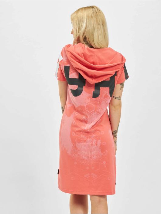 Yakuza Šaty 893 Digital Hooded ružová