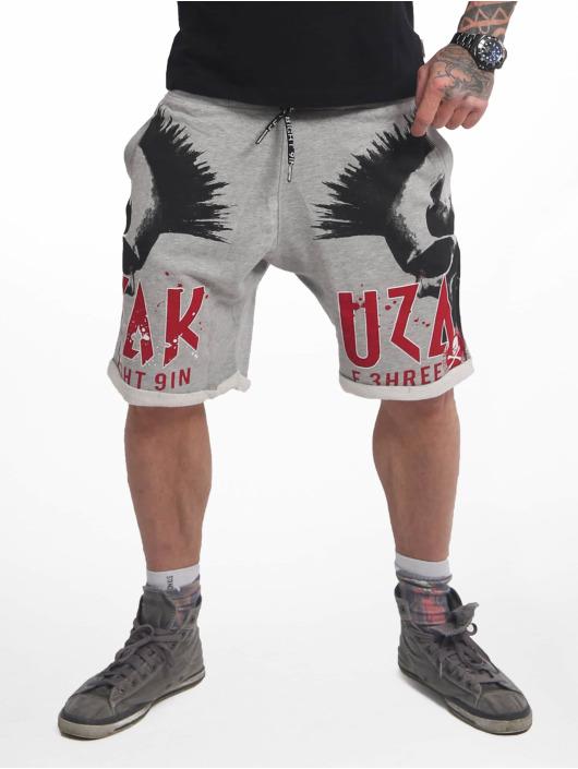 Yakuza Šortky Dead Punk Urban šedá