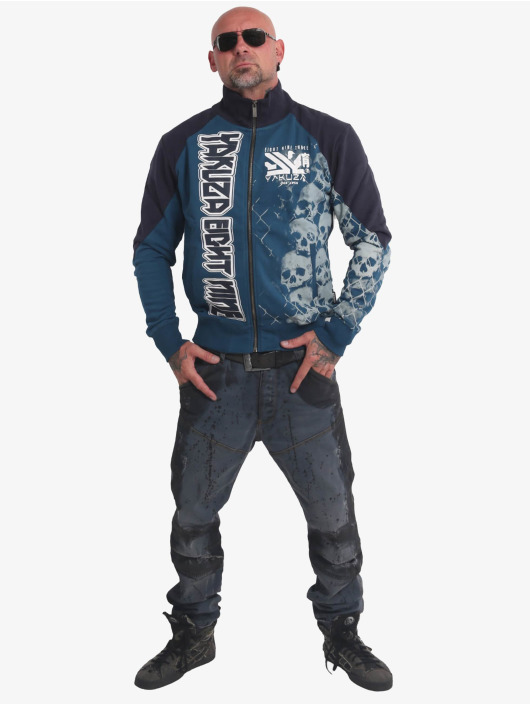 Yakuza Демисезонная куртка Killing Fields Classic синий