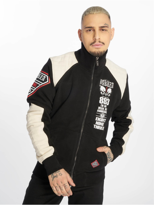 Yakuza Демисезонная куртка Lily Skull Two Face Training черный