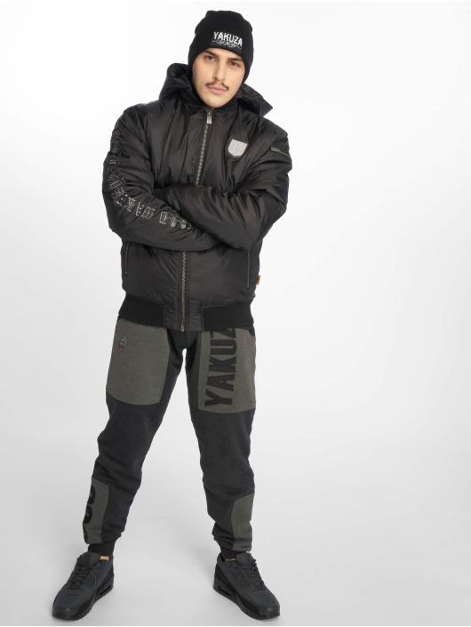 Yakuza Куртка-бомбардир Rookie черный