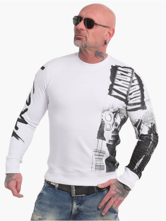 Yakuza Пуловер Raid белый