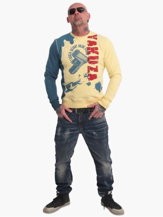Yakuza Пуловер Roscoe желтый