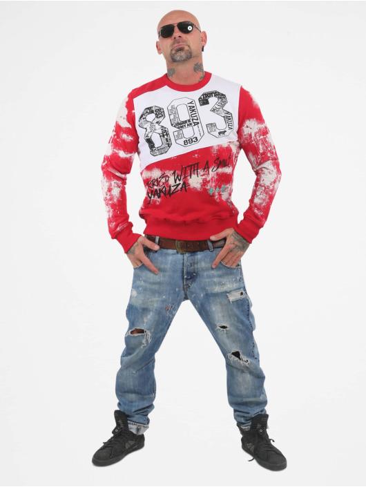 Yakuza Пуловер Burried красный