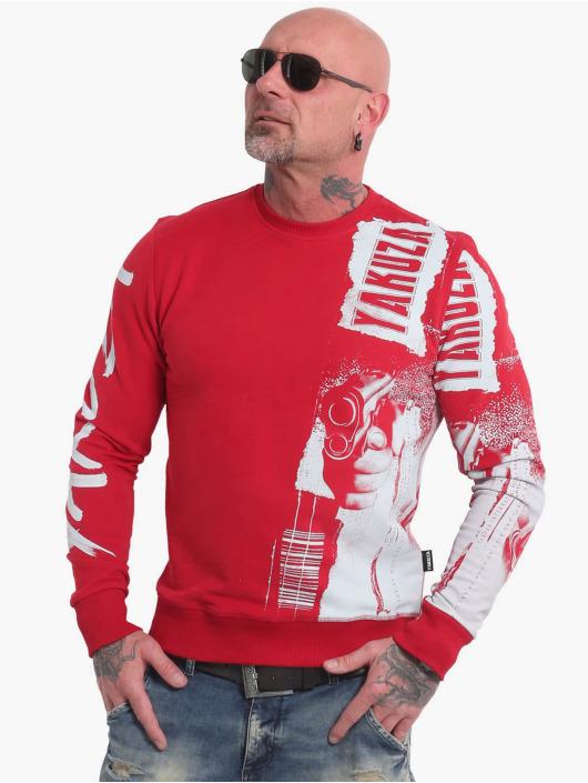 Yakuza Пуловер Raid красный