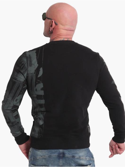 Yakuza Пуловер Raid черный