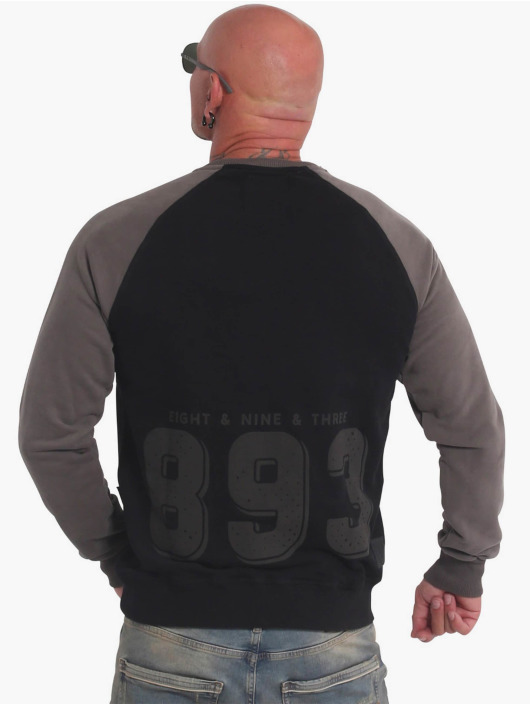 Yakuza Пуловер History Raglan черный