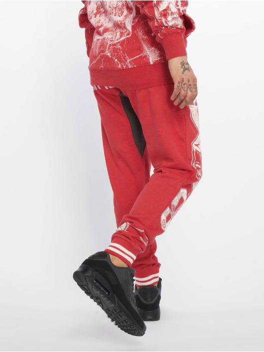 Yakuza Спортивные брюки Badge Sweat красный