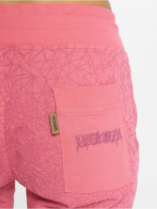 Yakuza Спортивные брюки Daily Use Skinny розовый