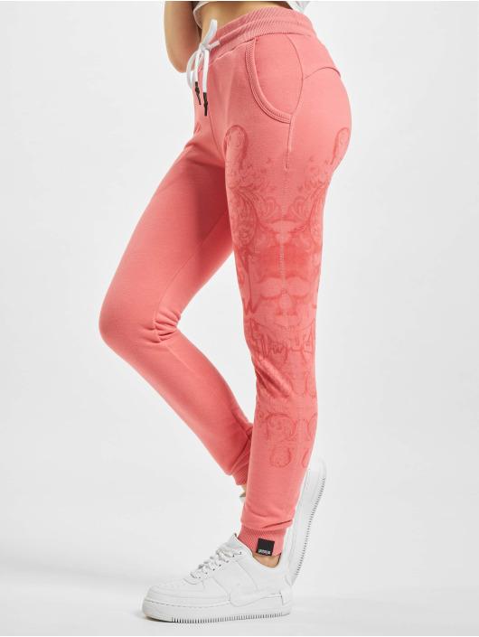 Yakuza Спортивные брюки Dark Tribe розовый