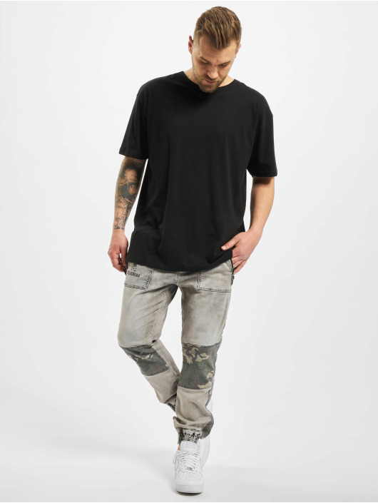 Yakuza Спортивные брюки Turnt серый